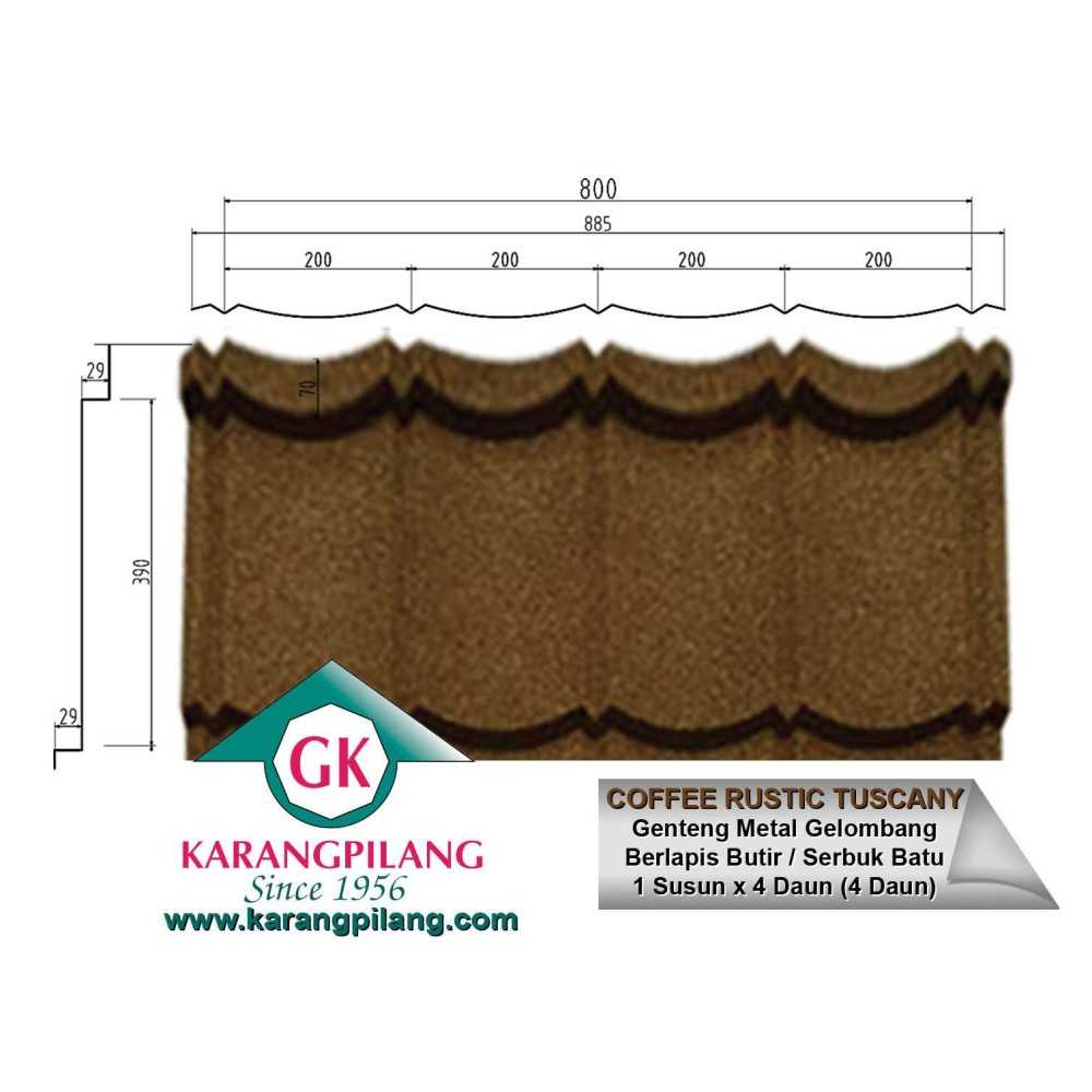Variasi Emerald Rustic Green  ConstructionRoofsSheets And Panels For Roofs 3