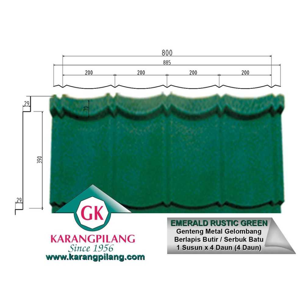 Variasi Saphire Rustic Blue  ConstructionRoofsSheets And Panels For Roofs 4