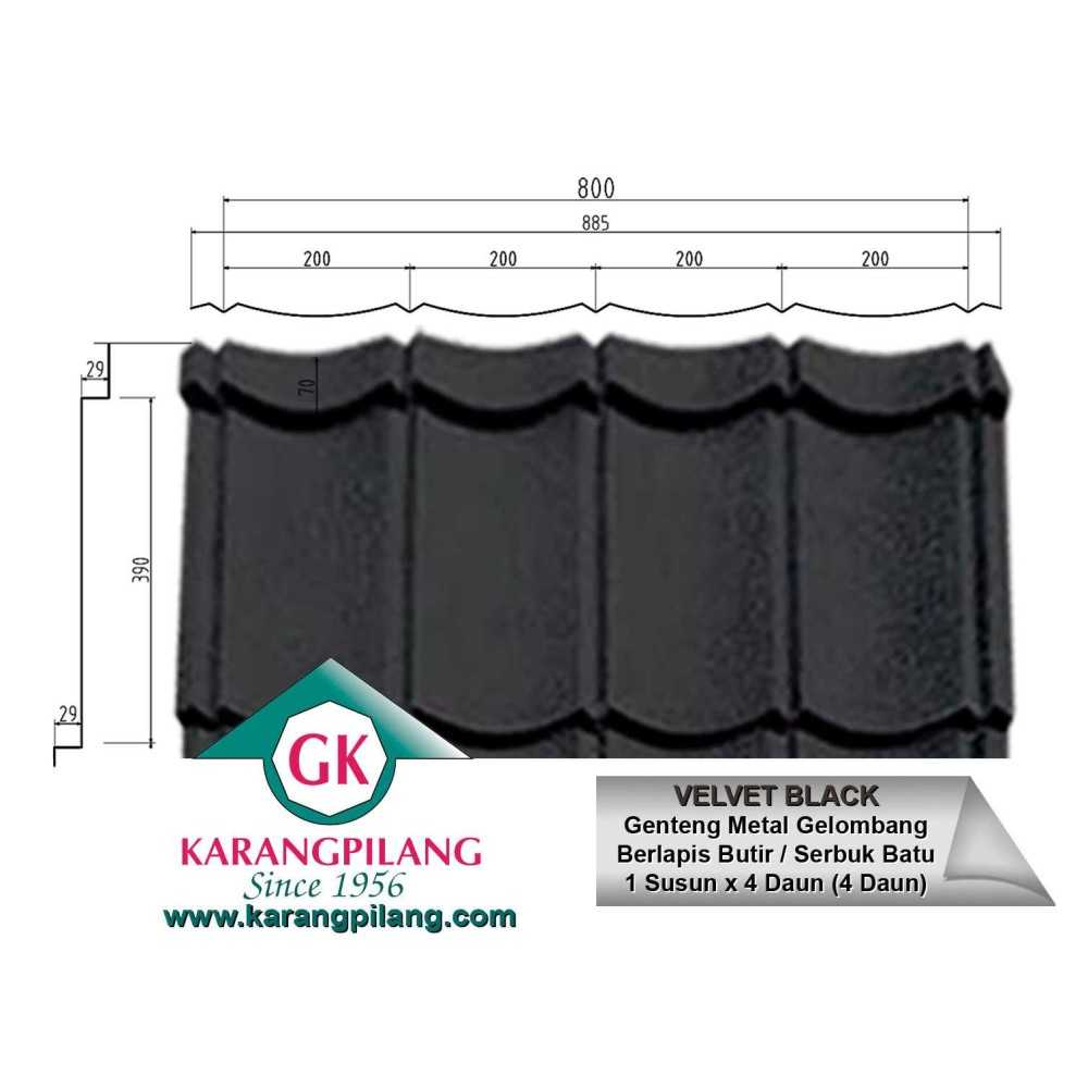 Variasi Charcoal Rustic Grey  ConstructionRoofsSheets And Panels For Roofs 6