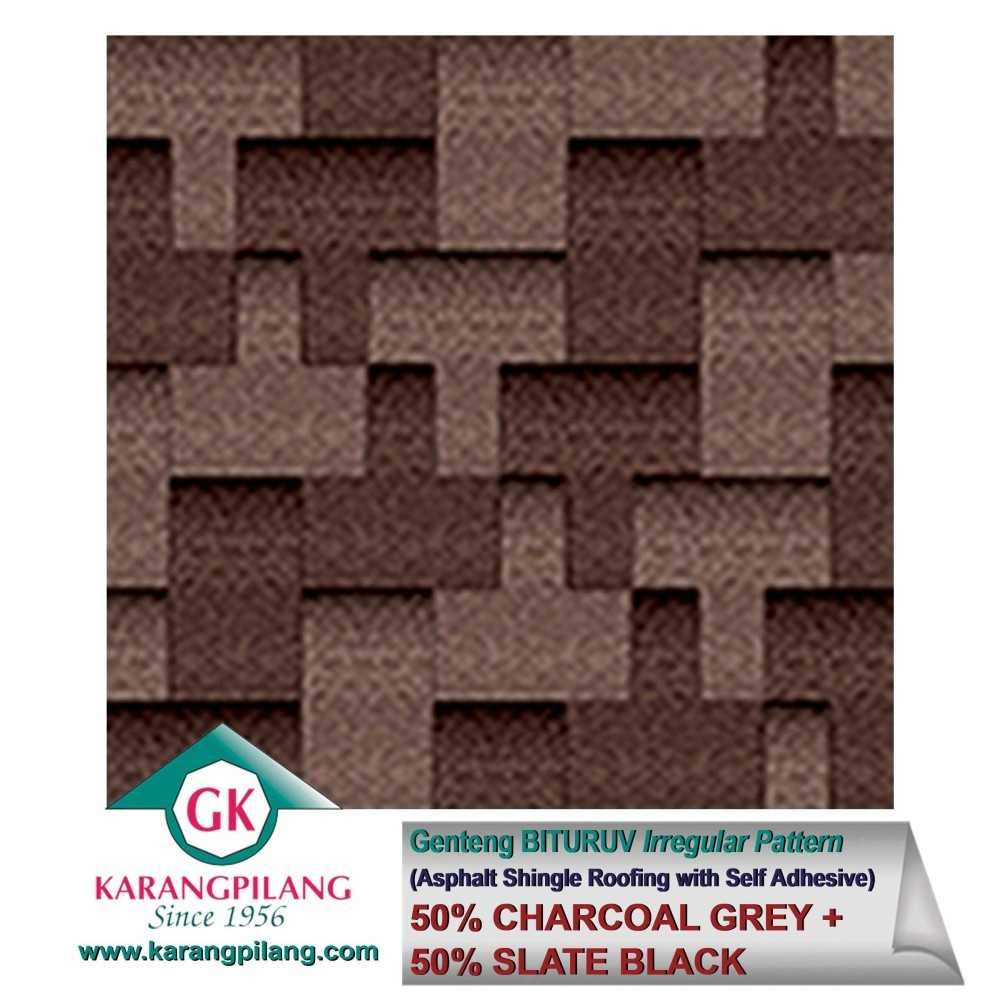 Variasi Chyarcoal Grey (Irregular Pattern)  ConstructionRoofsSheets And Panels For Roofs 1