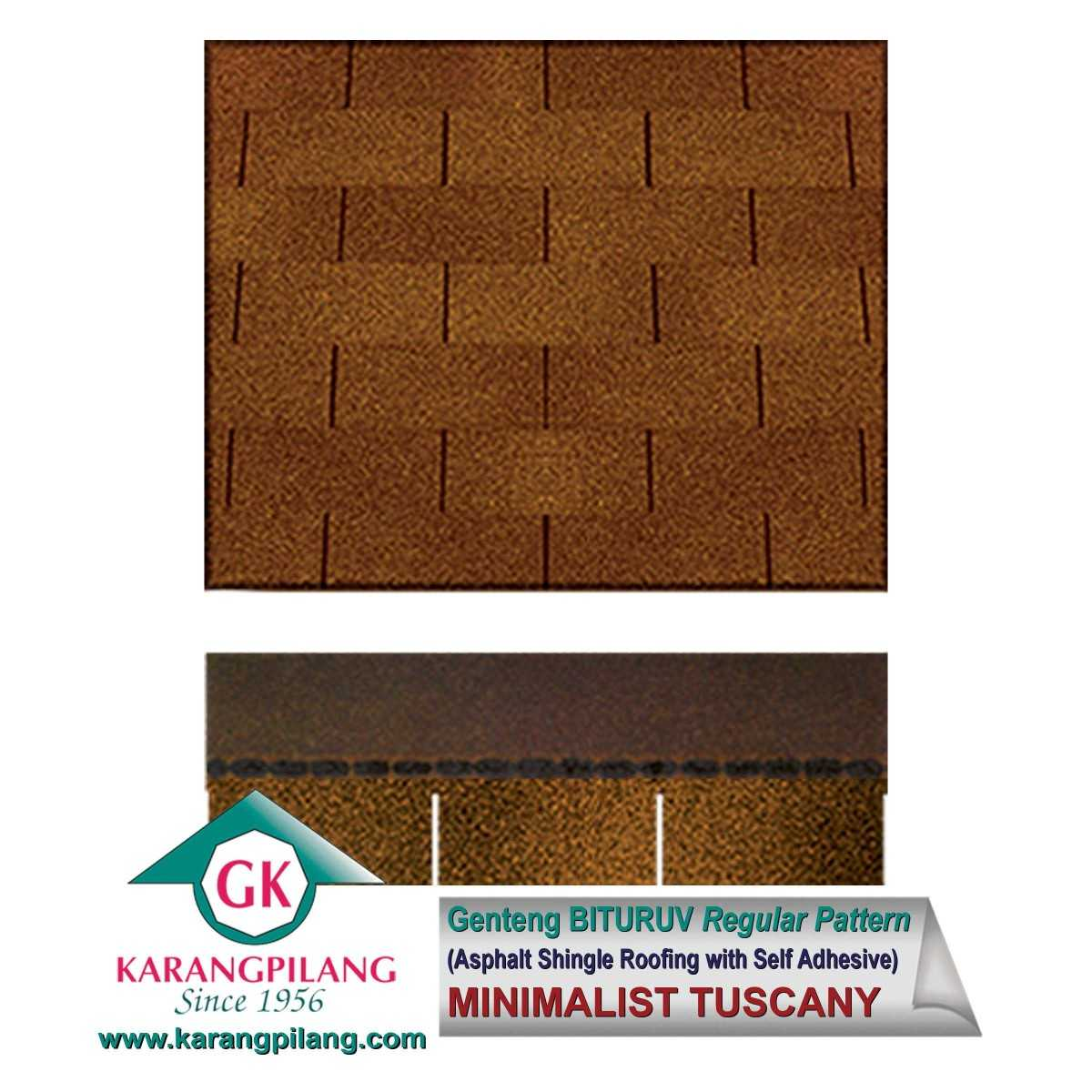 Variasi Minimalist Brown (Regular Pattern)  ConstructionRoofsSheets And Panels For Roofs 1