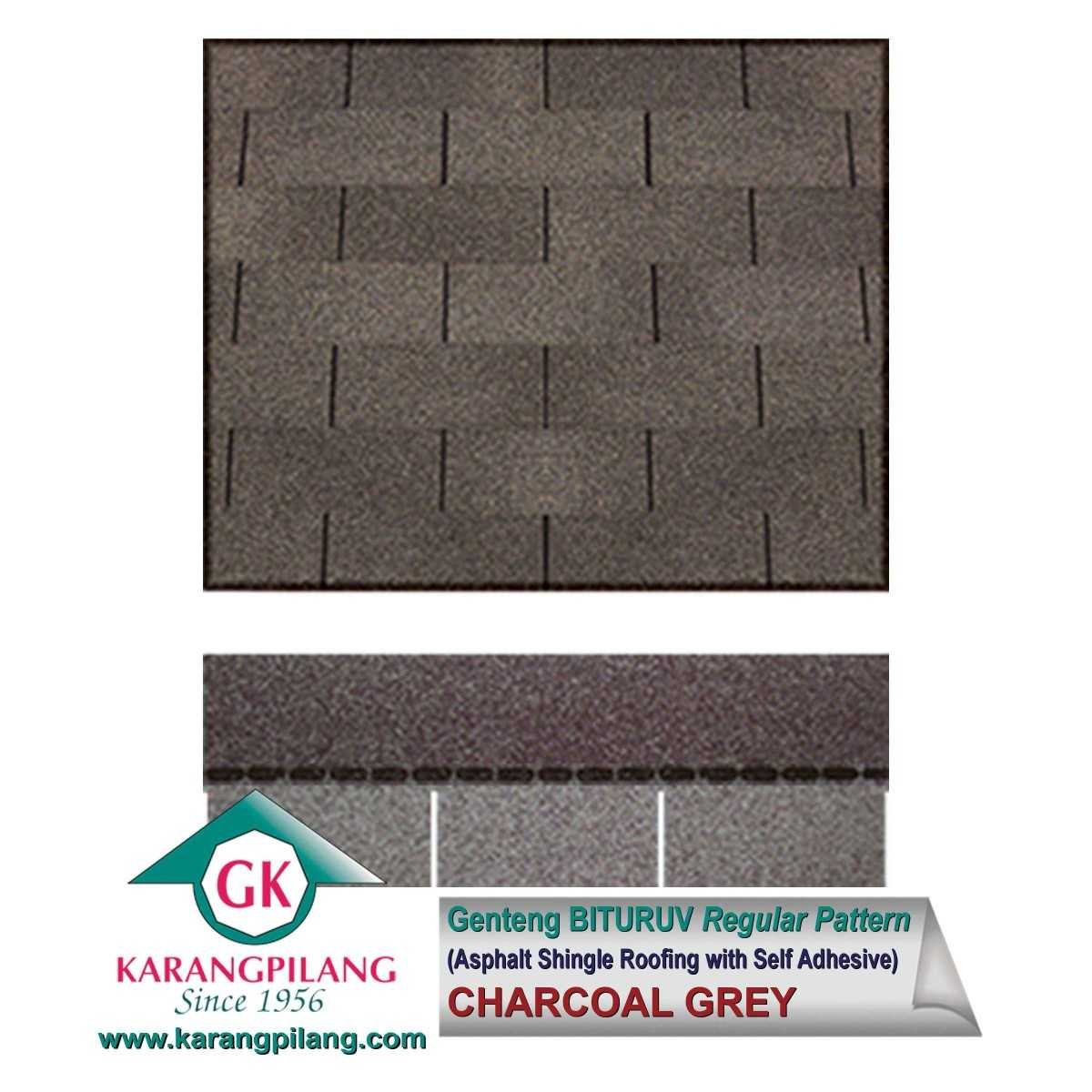 Variasi Diamond Black (Regular Pattern)  ConstructionRoofsSheets And Panels For Roofs 1