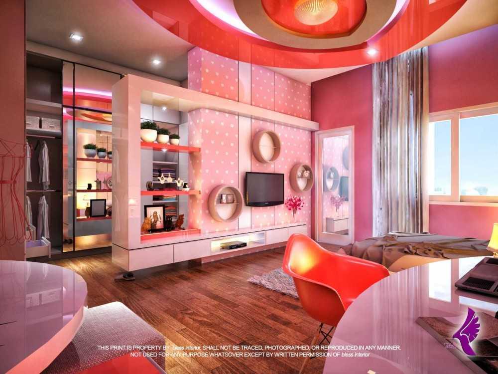photo r kamar anak cewek 2 contemporer interior desain arsitek oleh andreas fajar ismunanto