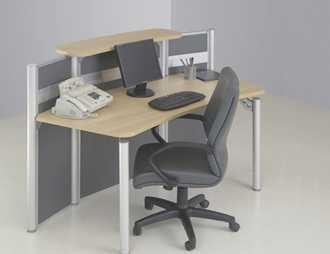 Variasi Reception Table  OfficeOffice Reception Desks 3