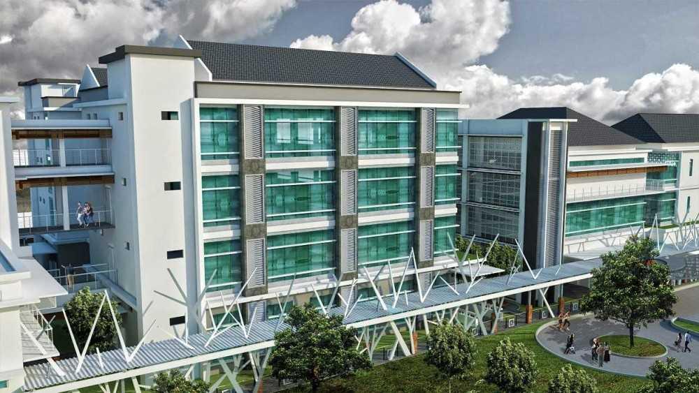 Photo Bird Eye View Rumah Sakit Ibnu Sina 6 desain arsitek ...
