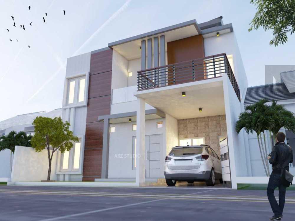 Project Rumah Minimalis desain arsitek oleh ARZ STUDIO ARSITAG