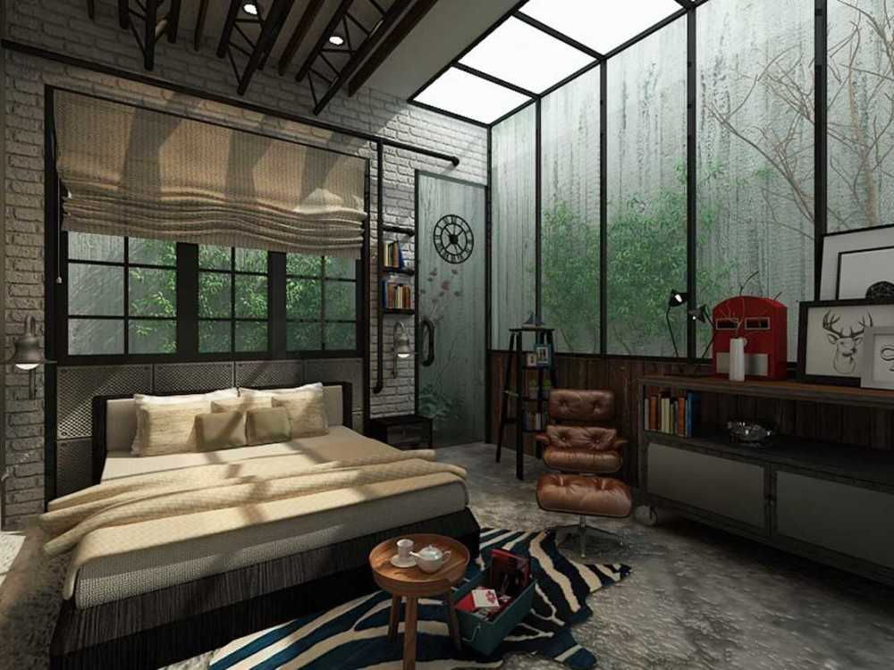 Photo Master Bedroom Industrial Master Bedroom 3 desain ...