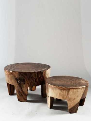 Malaga Solid Coffee Table Natural Brown FurnitureTables And ChairsCoffee Tables