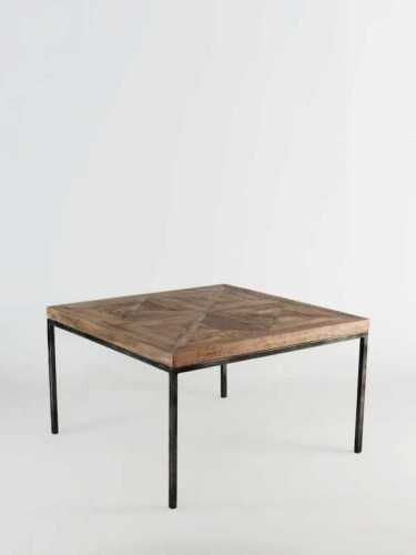 Segovia Coffee Table 80 X 80 Natural Brown FurnitureTables And ChairsCoffee Tables