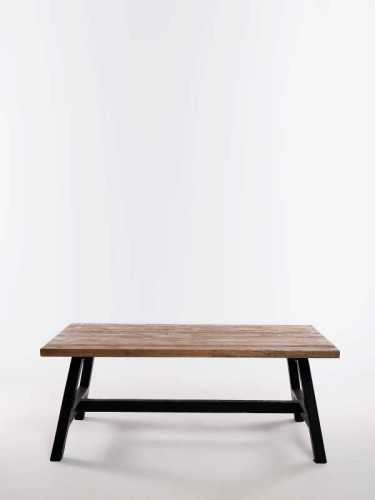 Tuve Coffee Table Natural Black FurnitureTables And ChairsCoffee Tables