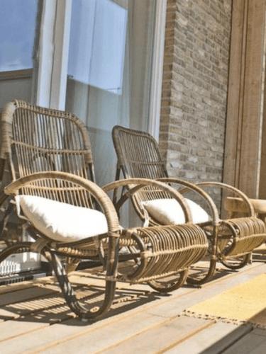 Kursi Baca Antero Grey Brown FurnitureTables And ChairsChairs