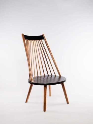 Emilio Chair Natural Dark Choco FurnitureTables And ChairsChairs