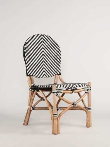 Ferran Dining Chair Black White Natural FurnitureTables And ChairsChairs