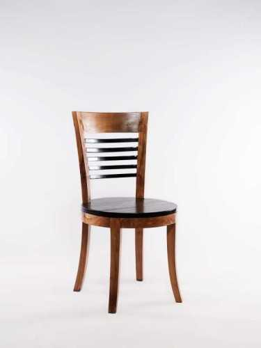 Moises Dining Chair Natural Black FurnitureTables And ChairsChairs