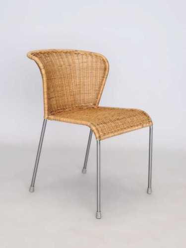 San Sebastian Dining Chair Honey Grey FurnitureTables And ChairsChairs