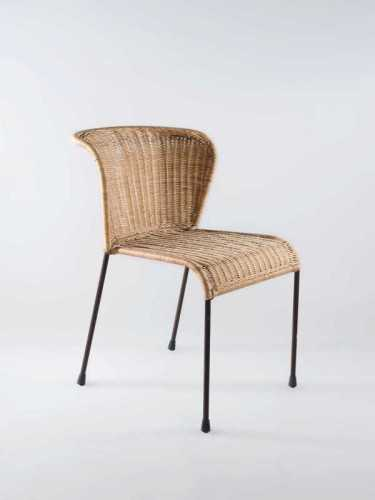 San Sebastian Dining Chair Honey Dark Brown FurnitureTables And ChairsChairs