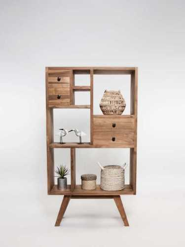Sambuca Cabinet Short Natural FurnitureStorage Systems And UnitsDisplay Cabinets