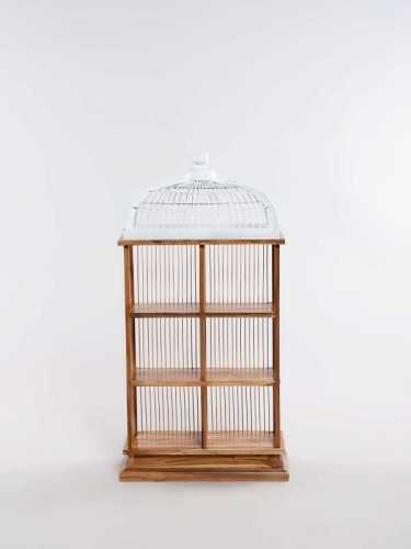 Messina Storage Case White Natural FurnitureStorage Systems And UnitsDisplay Cabinets