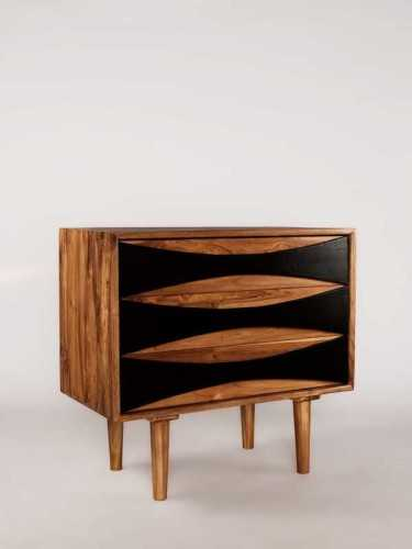 Giardinetti Drawer / Credenza Natural Dark Choco FurnitureStorage Systems And UnitsChests Of Drawers