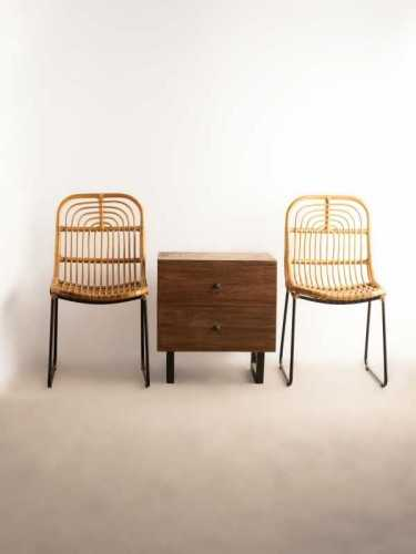 Kurashiki Side Drawer Vintage Brown FurnitureStorage Systems And UnitsChests Of Drawers