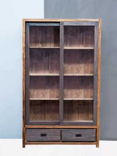 Veneto Bookcase Washed Grey FurnitureStorage Systems And UnitsBookcases