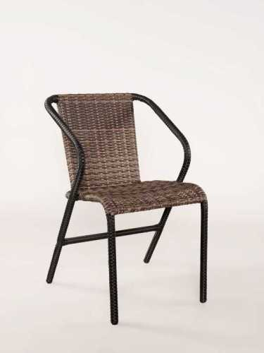 Romeu Outdoor Chair Java Brown FurnitureTables And ChairsChairs