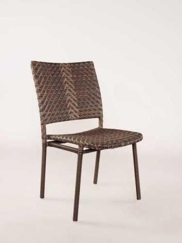 Tristao Outdoor Chair Java Black Brown FurnitureTables And ChairsChairs