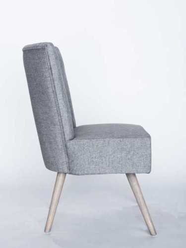 Temple Single Seater Sofa Grey Pastel And White Pepper FurnitureSofa And ArmchairsSofas