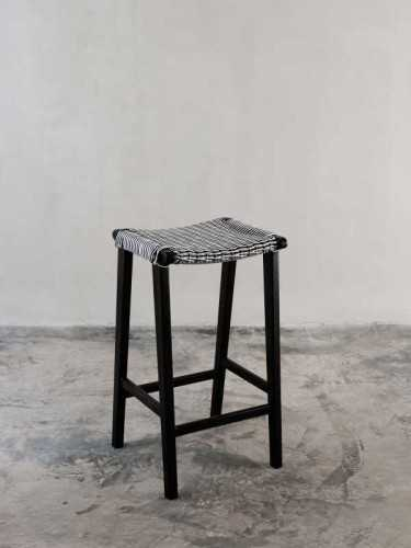 Foto produk  Cesco Bar Stool Black Black di Arsitag