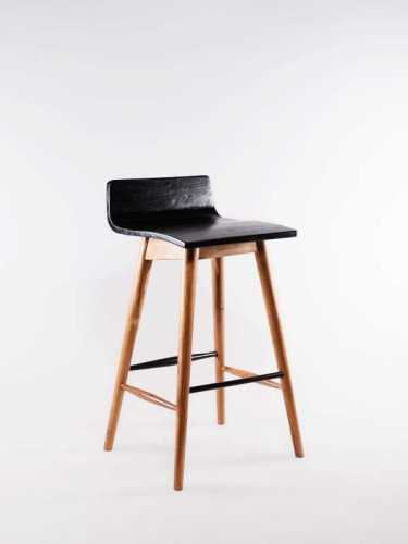 Hema Bar Stool Natural Dark Choco FurnitureTables And ChairsStools