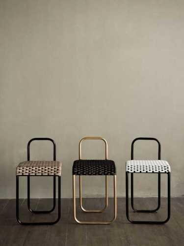 Turgo Stool Black Beige Black Beige FurnitureTables And ChairsStools