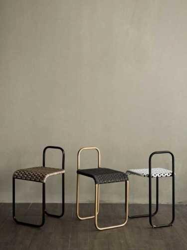Turgo Stool Black White Black X White FurnitureTables And ChairsStools