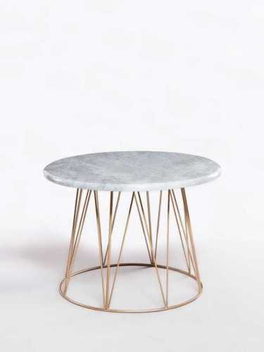 Foto produk  Annelise Coffee Table Grey Gold di Arsitag