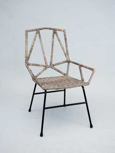 Foto produk  Adolfo Gallery Chair Natural Grey di Arsitag