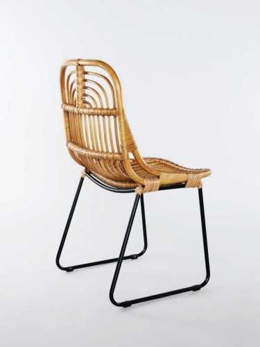 Foto produk  Aitor Dining Chair Honey Black Honey Black di Arsitag
