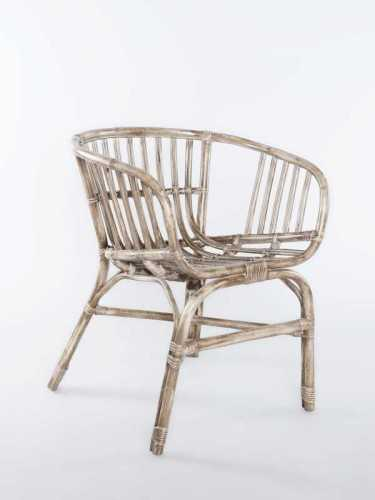 Foto produk  Albano Stackable Rattan Chair Grey Brown Antique Grey Brown di Arsitag