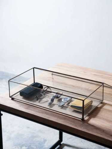 Foto produk  Sundvall Display Glass Box Antique Gold di Arsitag