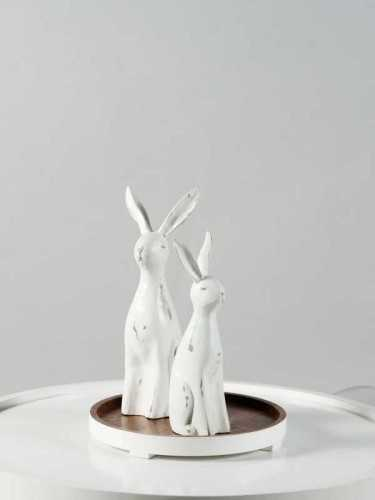 Usagi Rabbit Figure Small Size White White DécorHome DecorationsDecorative Objects