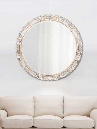 Chakri Mirror Gold (L) Soft Gold DécorHome DecorationsMirrors