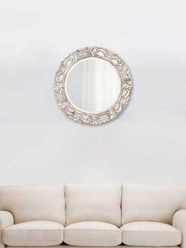 Chakri Mirror Small Gold Soft Gold DécorHome DecorationsMirrors