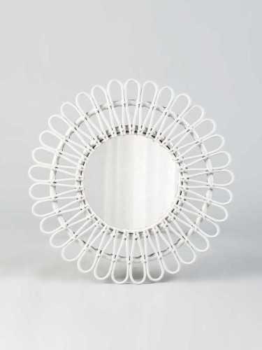 Foto produk  Milagros Mirror White White di Arsitag