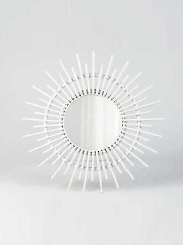 Monserrat Mirror White White DécorHome DecorationsMirrors