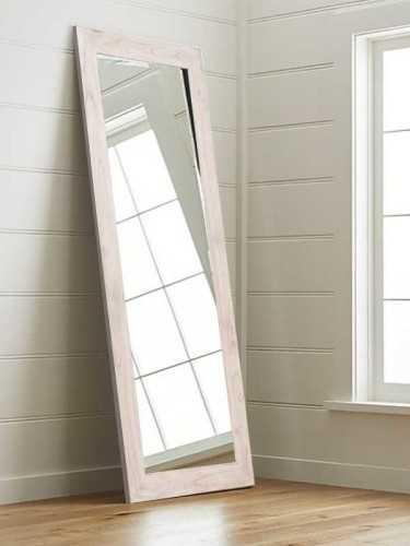 Noemi Standing Mirror Soft White DécorHome DecorationsMirrors
