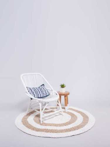 Kyros Natural Rug White Natural White DécorTextiles And RugsRugs