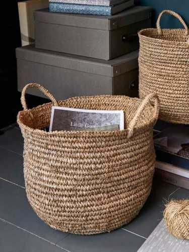 Andalucia Woven Basket Natural KitchenDining Table AccessoriesBaskets