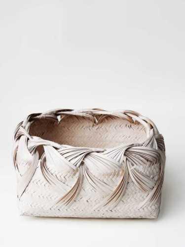 Foto produk  Karasuma Curly Basket White White Wash di Arsitag