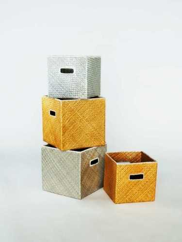 Foto produk  Pascual Box Large (Available In 2 Colors) Gold Yellow di Arsitag