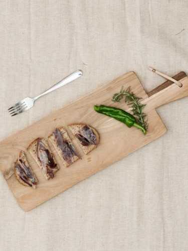Foto produk  Hase Teakwood Long Cutting Board Natural di Arsitag