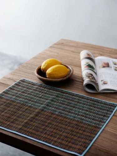 Suizokan Placemat (Set Of Two) Blue Orange KitchenKitchen TextilesPlacemats