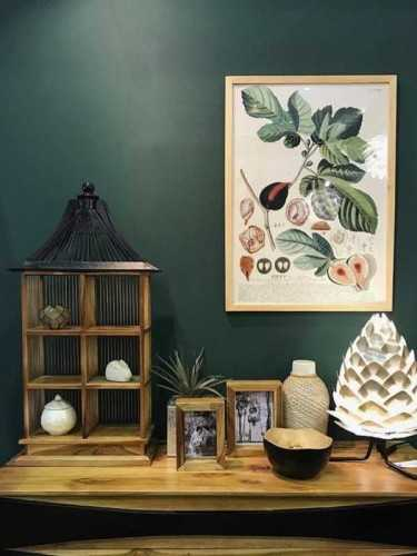 Figs Botanical Print With Frame 50 X 70 Cm Pine Frame DécorArt And PrintsPaintings And Prints
